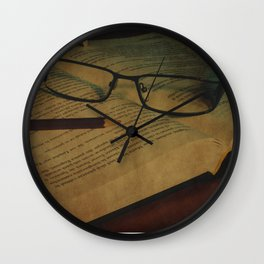 Vintage Learning Wall Clock