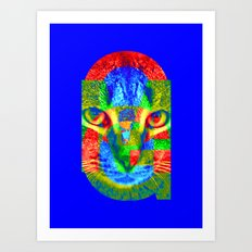 OMG-Sir Parker Art Print