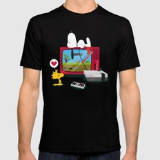 Duck Game Black SMALL Mens Fitted Tee