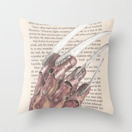The Stuff of Nightmares Throw Pillow