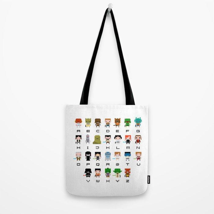 Star Wars Alphabet Tote Bag