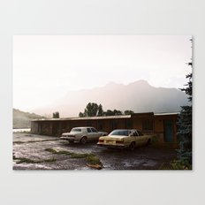 Abandoned cars in Colorado  Canvas Print