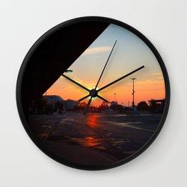 Sunrise, Montmorency Station Wall Clock