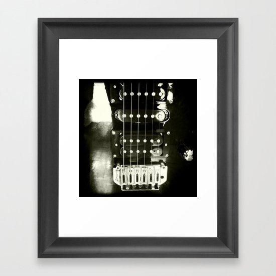 Sound Light Framed Art Print