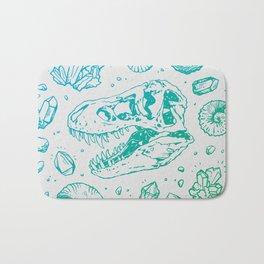 Geo-rex Vortex   Turquoise Ombré Bath Mat