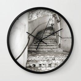 Ceramic Stairway Wall Clock