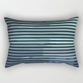 Wave #8 Rectangular Pillow