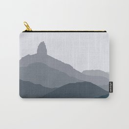 Black Tusk Mountain, Whistler Canada in green Carry-All Pouch