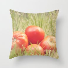 Home Grown Throw Pillow