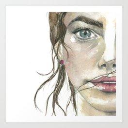 Cathy Art Print