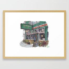 The Little Shamrock, SF Framed Art Print