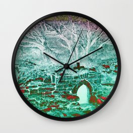 Holy Well Wall Clock