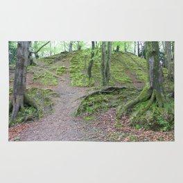 Forest Dunkeld Scotland Rug