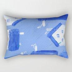 Wee Hooses Rectangular Pillow