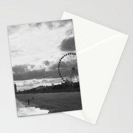 South Carolina Coastline - Myrtle Beach BW Stationery Cards