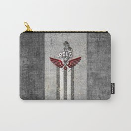 poloplayer grey Carry-All Pouch
