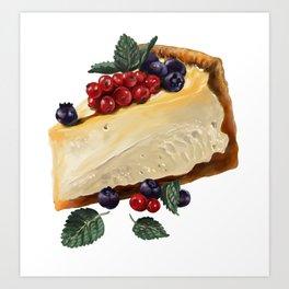 Fruitcake Art Print
