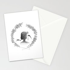 Watching the Time Stationery Cards