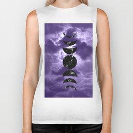 Marbled Moon Phases #3 #decor #art #society6 Biker Tank