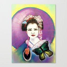 April Transformation Goddess Canvas Print