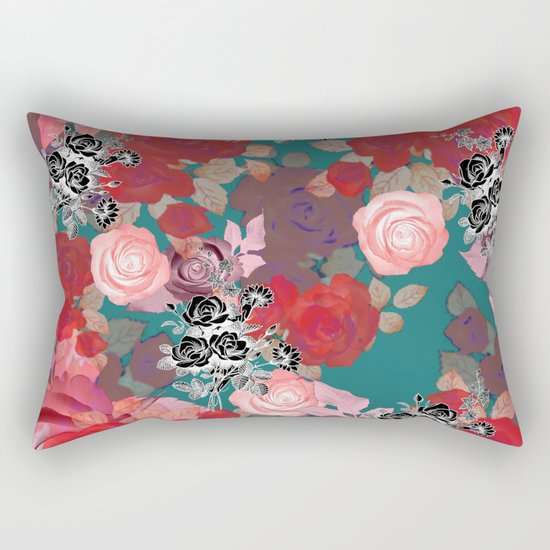 RoseNRoses 2 Rectangular Pillow