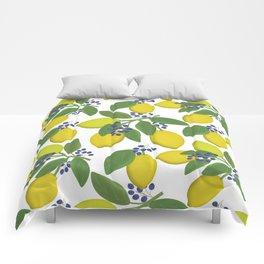 Sprigs of lemon . Comforters