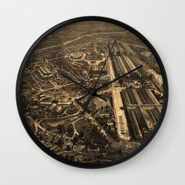 Philadelphia's Centennial Exposition 1876 Wall Clock