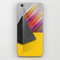 pyramid iPhone & iPod Skins featuring Pyramid by ohzemesmo