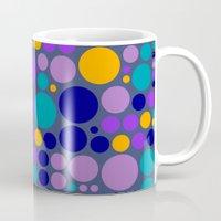 dots Mugs featuring Dots by Aloke Design