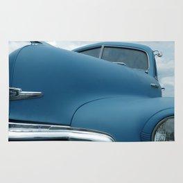 Moody Blue Rug