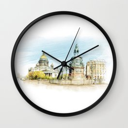 Saint Isaac's Cathedral Wall Clock