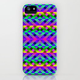 Rainbow Scaffolding iPhone Case