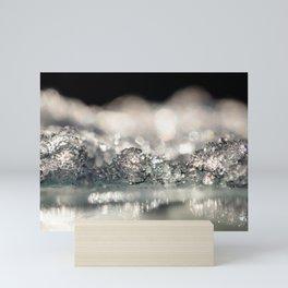 Silver frost Mini Art Print