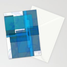 Squares combined no. 1 Stationery Cards