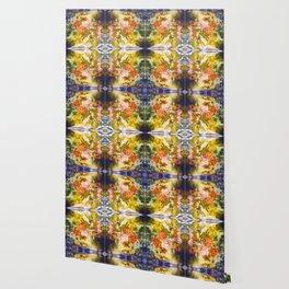 Marigold Photographic Pattern #1 Wallpaper