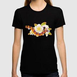 Kuhli loach and plumeria T-shirt