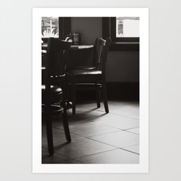 Please be Seated Art Print