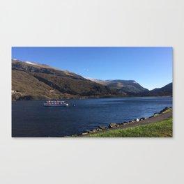 Snowdon Lake Canvas Print