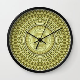 Fractal Kaleido Study 003 in CMR Wall Clock