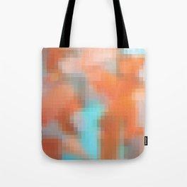 pixlated watercolor XIV Tote Bag