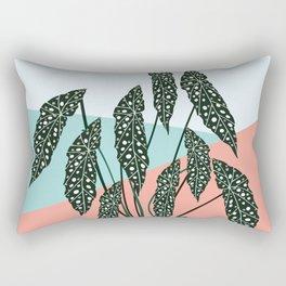 Dotted Begonia Love Rectangular Pillow