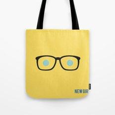 New Girl - Minimalist Tote Bag