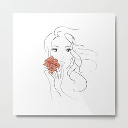 Beauty Blossom Metal Print