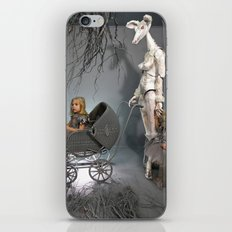 Grey iPhone Skin