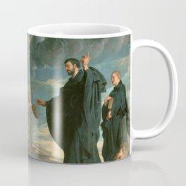 The miracles of St. Francis Xavier - Peter Paul Rubens Coffee Mug