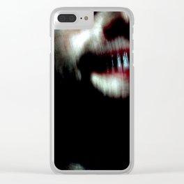 Grim Clear iPhone Case