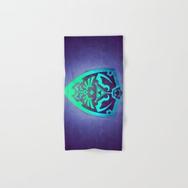 Zelda Shield Hand & Bath Towel