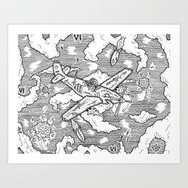 """Bombs Away"" Art Print"