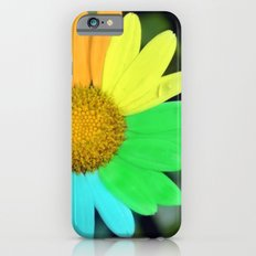 colorful daisy Slim Case iPhone 6s