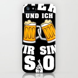 beer beer lover gift alcohol booze iPhone Case